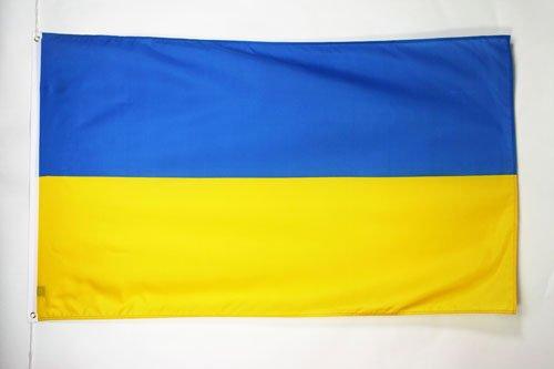 UKRAINE FLAG 3' x 5' - UKRAINIAN FLAGS 90 x 150 cm - BANNER 3x5 ft - AZ FLAG