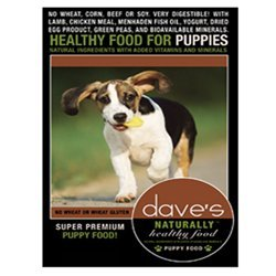 Dave's Pet Food Naturally Healthy Dry Puppy Food, 18 lb