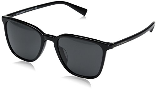 Dolce-Gabbana-Mens-Acetate-Man-Square-Sunglasses-Black-53-mm