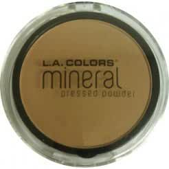 L.A. COLORS MINERAL PRESSED POWDER TOFFEE CMP312 by L.A. Colors
