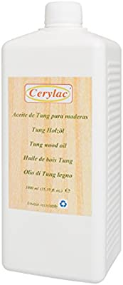 Aceite de Tung puro - 1 Litro: Amazon.es: Bricolaje y herramientas