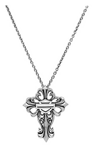 Filigree Cross Necklace - Harley-Davidson Women's Bar & Shield Filigree