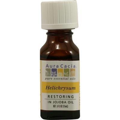 Aura Cacia - Pure Essential Oils Restoring Helichrysum - 0.5 oz.