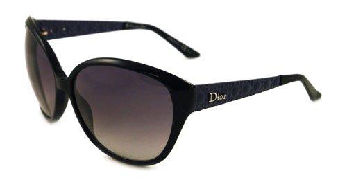 DIOR Lunettes de soleil DIOR COQUETTE 1 S 0O60 Noir Bleu 62MM ... 98f435bd2385