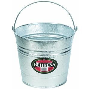 8 Quart Bucket (Behrens 1208 8-Quart Steel Pail)