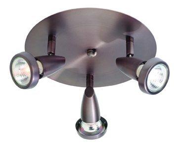 3 Light Spotlight Cluster - Mirage - 3-Light Cluster Spotlight - Bronze Finish