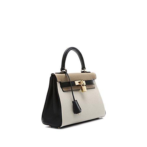 Donna grey Macton 28cm grey Sacchetto black q507OwX0