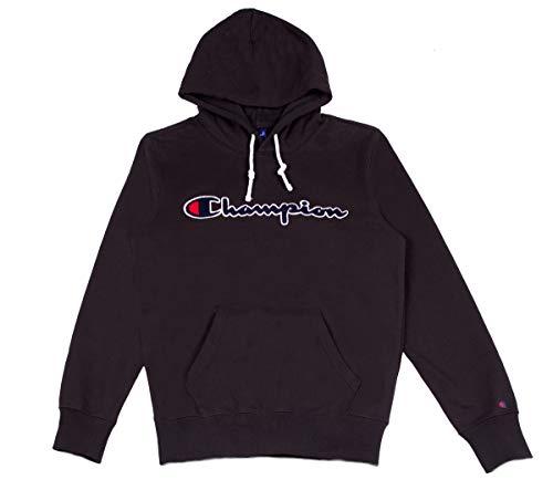 Champion Hooded Hoodie Schwarz 212940 nbk Men Sweatshirt rEqx4wrC