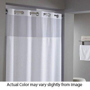 Superieur Reflection   71u0026quot; X 77u0026quot;   Hookless Shower Curtain ...