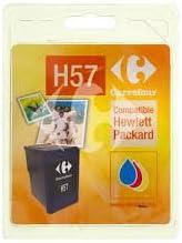Carrefour 433H005713 Cian, Magenta, Amarillo cartucho de tinta - Cartucho de tinta para impresoras (HP, Cian, Magenta,