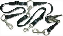 Cetacea Pet Truck Bed Tether with Ratchet Tightening Hardware, One Size, Black
