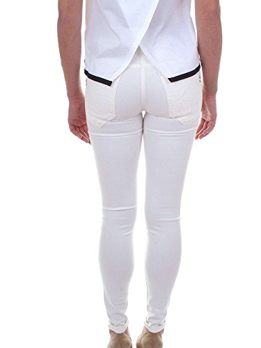 Patrizia Pepe donna Super Skinny Jeans woll bianco