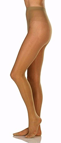 Jobst Ultrasheer 20-30 Waist High Closed Toe Pantyhose Stocking Suntan Large by JOBST