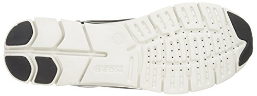 Geox D Sukie B, Zapatillas para Mujer Negro