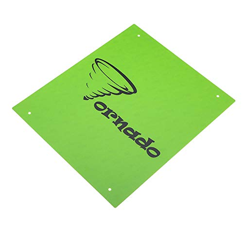 Price comparison product image TEVO 5Pcs Green Color 370310mm PC Film Heated Bed Sticker for 3D Printer