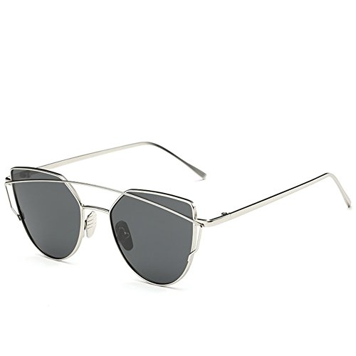 A-Roval Women Polarized Round Fashion Large Metal - Men Face Sunglasses My Which Suit