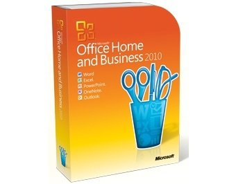 Microsoft Office 2010 Home and Business Disc Version For 1PC