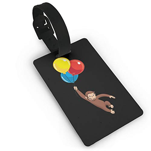 Luggage Tags, Curious George Travel Accessories Suitcase Tags Identifiers Business ID Card Tag