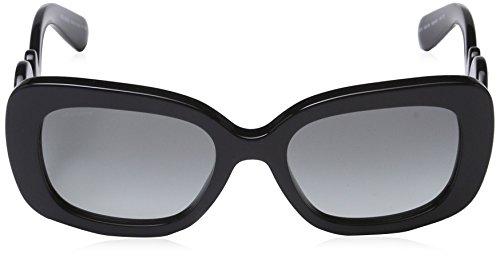 Noir Grey soleil Lunette Gradient Femme de Black 27OS Mod Prada qv8nYW