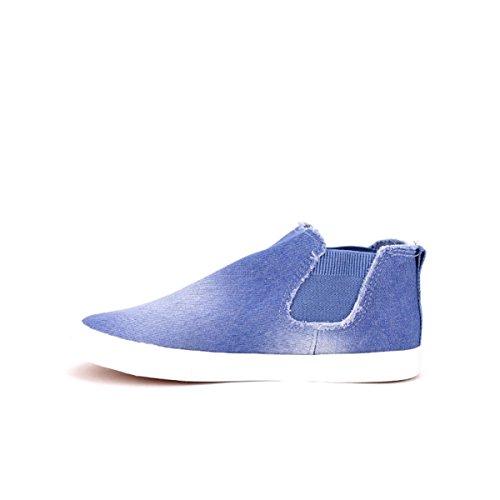 Cendriyon Baskets KISPER'S Blue Chaussures Femme Bleu YTw3Q28pm