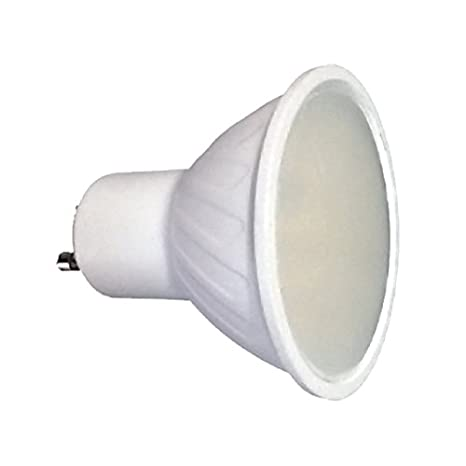 LightED Bombilla LED 50K GU10, 7 W, Blanco 50 x 58 mm: Amazon.es: Iluminación