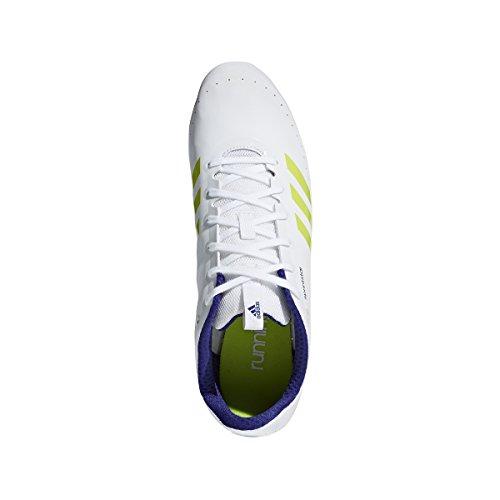 Adidas Sprintstar Cornamusa Calzado Campo De La Pista De Los Hombres Blanco / Cristal Blanco / Púrpura Real Manchester barato en línea yNH0e0,