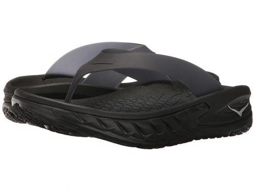 Hoka One One(ホカオネオネ) メンズ 男性用 シューズ 靴 サンダル フラット Ora Recovery Flip - Black [並行輸入品] B07BMCGMCK 7 D - Medium