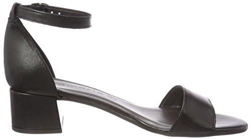 Black con alla Tamaris Donna Sandali Cinturino 28394 Nero Leather Caviglia 7xqZw8aEq