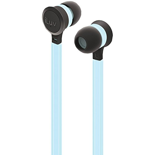 iLuv NEONGLOWBL Neon Earphones Smartphones product image