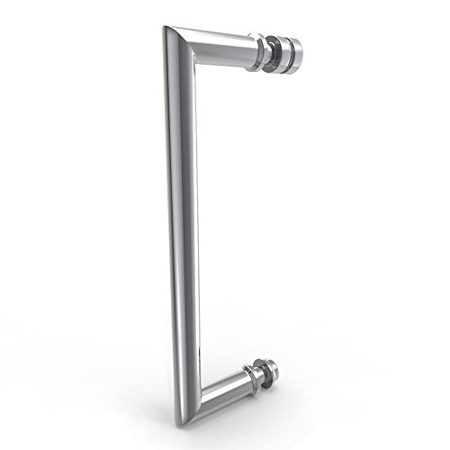"cheap DreamLine Unidoor Lux 48 in. Width, Frameless Hinged Shower Door, 3/8"" Glass, Chrome Finish"