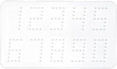 Hama Midi Bügelperlen Stiftplatte weiß 273 Zahlen