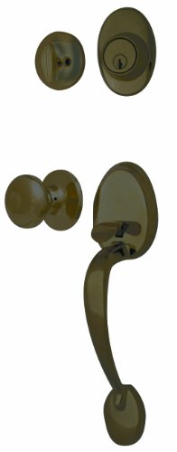 Ultra Hardware 45209 Sturbridge Entry and Single Cylinder Deadbolt Oil Rubbed Bronze Sc1 (Oil Ultra Hardware)