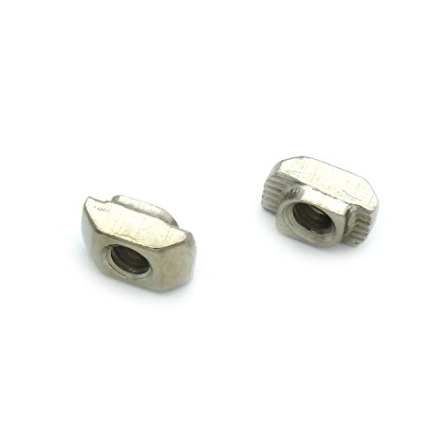 TOPINSTOCK 2020 Drop In Post Assembly M4 T-nut for 20 x 20 Aluminum Extrusion Pack of 100