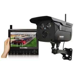 MCYDIGIOUTLCD - SECURITYMAN DIGIOUTLCD 4-Channel Digital Wireless Security System with 7 LCD SD (TM) Recorder 1 Enhanced Digital Wireless Outdoor Camera