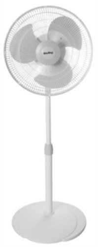 (Air King 9126 16-Inch Adjustable Oscillating Pedestal Fan by Air King )