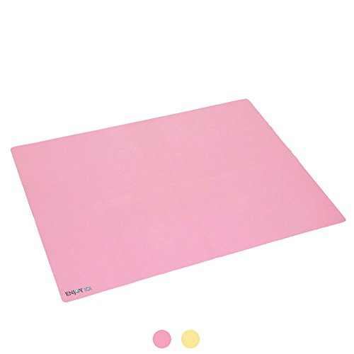 ENJOY IOI Infant Waterproof Urine Mat Cover Burp Changing Pad Protector Breathable for Baby Boys Girls 23.62'' x 35.43'' (pink) by EBlife