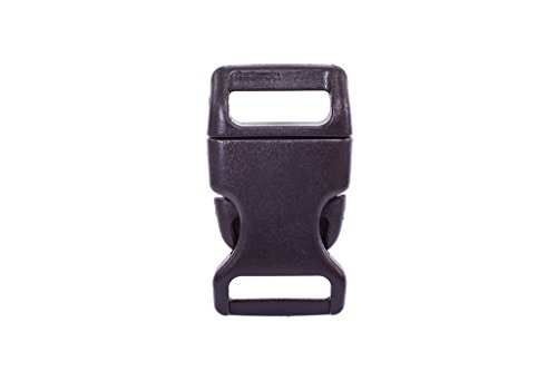 15mm Plastic Buckle Color Black - Planet Blue Software