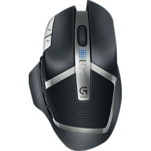 Logitech G602 Wireless Gaming Mouse - Optical - Wireless - Radio Frequency - Black - Usb 2.0 - 2500 Dpi - Scroll Wheel - 11 Button(S) - Right-Handed Only ''Product Category: Input Devices/Pointing Devices''