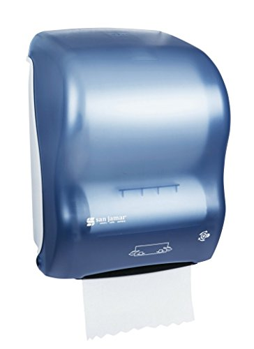 San Jamar T7000 Simplicity Mechanical Hands Free Roll Towel Dispenser, Fits 8