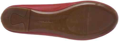 Ballerines Fermé 0025812 021 Rouge Bout rot Femme Conti Andrea qIpEW