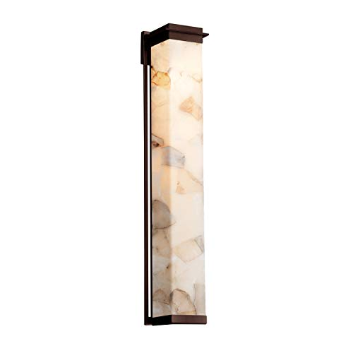Justice Design Group Lighting ALR-7547W-DBRZ Pacific Wall Sconce, 48