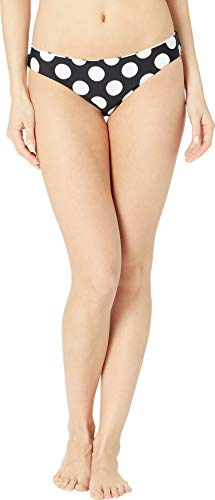 - La Blanca Women's Hipster Bikini Swimsuit Bottom, Black Dot Goose, 12