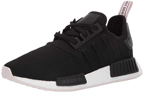 adidas Originals Women's NMD_R1 Running Shoe, Black/Orchid Tint, 6 M US