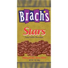 Brachs Milk Chocolate Stars - 6 lb. package, 3 per case (Brachs Chocolate Stars)