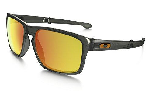 Oakley Men's Sliver F Matte Olive Ink/Fire Iridium Polarized - Oakley Sunglasses F