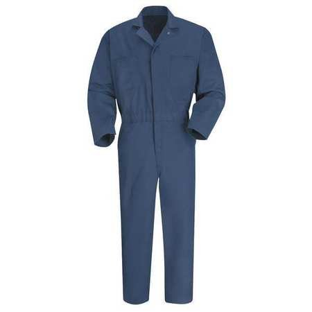 Coverall, Chest 50In., Navy
