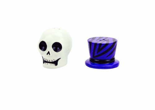 Boston Warehouse Witch Doctor Skull Salt and Pepper Set by Boston Warehouse -