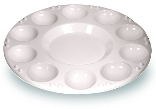 Paint Tray With 10 Wells For Holding Paint Is Inexpensive, Sturdy And Cleans Up Easily (Pkg/5) by National Artcraft