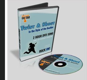 Beginner Guitar Lesson Twist & Shout the Beatles Style (Beatles Guitar Dvd)