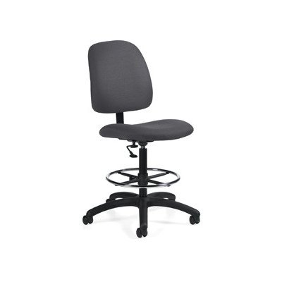 Goal Armless Drafting Pneumatic Task Chair Color: Stone